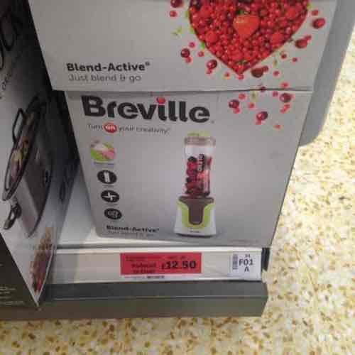breville blender £12.50 instore @ Sainsbury's
