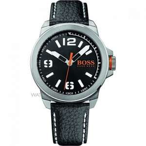 Mens Hugo Boss Orange New York Watch (was £99) now £65.55 delivered at The Watch Shop