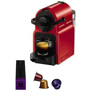 Nespresso Inissia Coffee Machine by KRUPS + £40 Nespresso Credit +  3 year guarantee £69.98 @ John Lewis