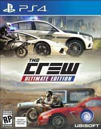 The crew ultimate edition ps4 £10 at Game instore
