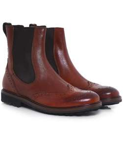 Joss for Jules B   £33 Buffalo Leather Wingtip Boots