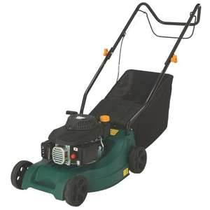 LM40-E 40CM 99CC HAND-PROPELLED ROTARY LAWN MOWER £69.99 @ Screwfix