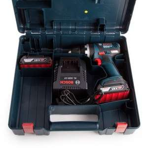 Bosch GSB18VEC (06019D7177) Combi Drill DynamicSeries Cordless 18V li-ion Brushless (2 x 2 Ah Batteries) in Carry Case - Was £179.99 now £129 @ Toolstop