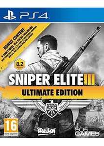 Sniper Elite 3 Ultimate Edition PS4 £12.99 @ Base