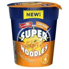 Batchelors Super Noodles (pot format / chicken, BBQ beef, curry or bacon) for £0.50 instead of £1 @ ASDA