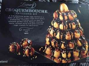 iceland instore croquembouche now £1 instore