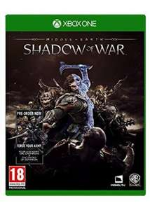 Middle-Earth: Shadow of War (including Pre Order DLC) (Xbox One/PS4) £39.69 @ Base.com