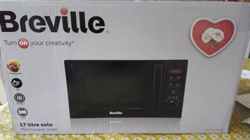 Breville 17 litre solo microwave oven £9.00 @ Tesco - Handforth Dean