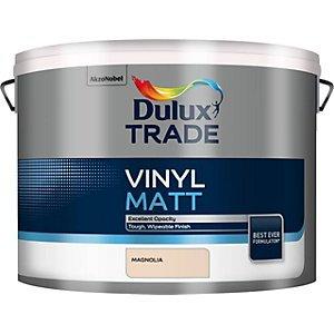 Dulux Trade Vinyl Matt Emulsion 10L £33 @ Travis perkins