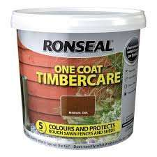 Tesco, Ronseal one coat timbercare 5L half price. £5.00