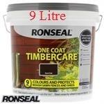 Ronseal One Coat Timbercare: Dark Oak 9 Litre £5.99 C+C HomeBargains