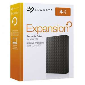 "4TB Seagate Expansion 2.5"" Portable Hard Drive £79 with code @ Very"