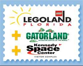Orlando Florida: LEGOLAND (14 days!), Kennedy Space Center (1 day) and GatorLand (1 day) combo-ticket Now cheaper £61.60 @ Orlando Attractions £61.60
