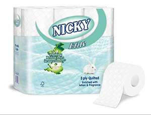 54 Nicky Toilet Rolls for £10 @ Farmfoods