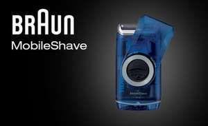 Braun MobileShave Travel Wet + Dry Shaver AA - £13.29 with code @ MyMemory