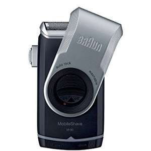 Braun MobileShave Travel Wet + Dry Shaver AA M90 - £12 @ Tesco Groceries