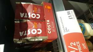 Costa Roast and Ground Coffee (200g) £1.94 @ Coop