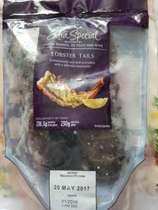 Pack of 2 lobster tails - £1.50 instore @ ASDA (Bishop Auckland)