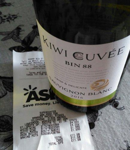 Kiwi Cuvee white wine £4 @ Asda instore (Worcester)