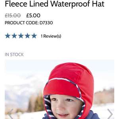 JoJo Maman Bebe Children's Hats £5 free delivery