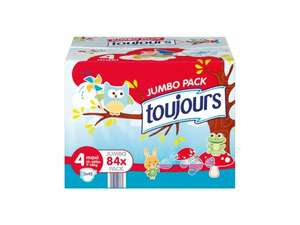 Toujours Maxi Nappies Size 4 Jumbo Pack 84 pack @ Lidl - £4.99