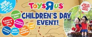 Children's Day Party at Toys R Us this Bank Holiday Monday, 29th May!