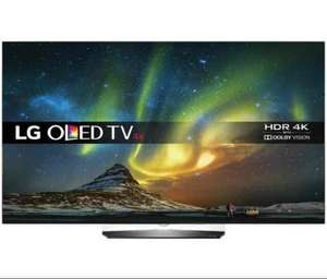 LG OLED55B6V  55 inch OLED 4K Ultra HD HDR Premium Smart TV with freeview play 6 years warranty £1449 @ Richer Sounds with code BIGTV150