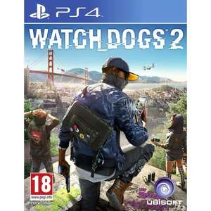 Watch Dogs 2 (PlayStation 4 & Xbox 1) Smyths Toys (Instore and Online)