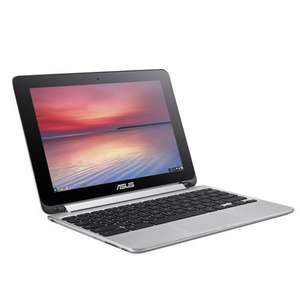 "ASUS Chromebook Flip C100PA Refurb 10.1"" Touchscreen Convertible Laptop, 4GB RAM, 16GB - eBay £149.99"