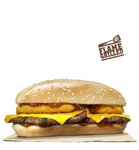 Long Texas BBQ Burger & Fries - £1.99 - Burger King