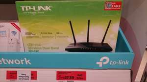 TPLink AC1350 Wireless Router for £27.50 (other networking on offer too) instore @ Sainsbury's (Salford)