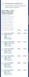 Disneyland Paris: Adult ticket at Child Price! from £44
