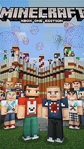 Xbox - minecraft birthday packs 1-5 FREE