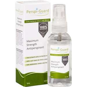 Perspi-Guard Maximum Strength Antiperspirant Spray £7.59 (Prime) £7.21 (S&S) from Amazon