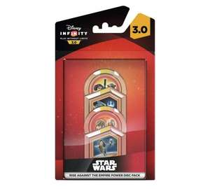 Disney Infinity power discs, 24p, Asda