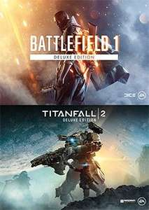 Battlefield 1 & Titanfall 2 Deluxe bundle £47.49 on Origin store