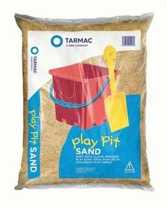 wickes sandpit sand 25kg for £2.99 each if you buy 3 bags - £8.97