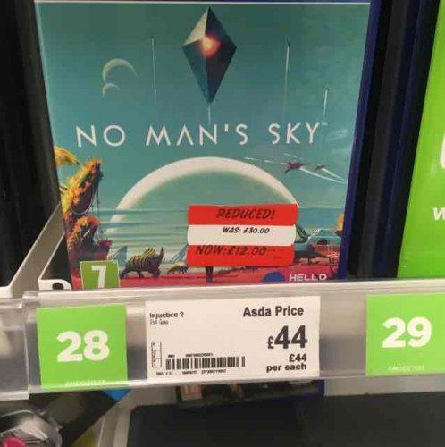 No Man's Sky for PS4 £12 @ Asda