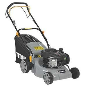 Titan self propelled petrol lawnmower £134.99 @ screwfix.com