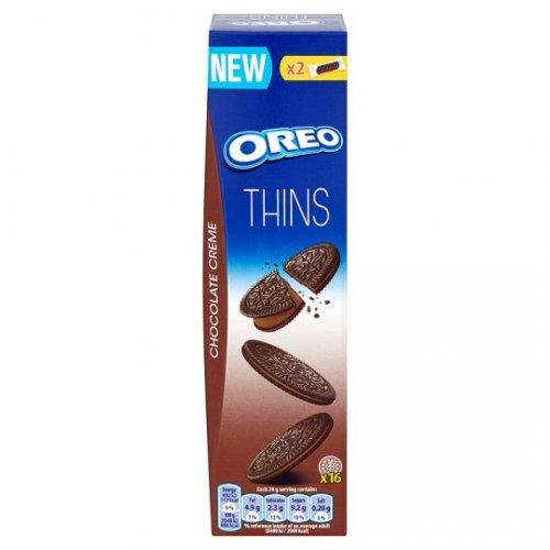 Oreo Thins Original Vanilla / Chocolate Creme 96g was £1.08 now 54p at Tesco