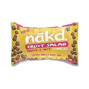Nakd Fruit Salad/toffee treat  Nibbles 40g 29p at home bargains
