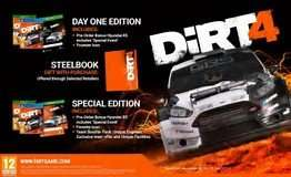 DiRT 4 Day One Edition + Steelbook Gift Xbox One & Ps4 £39 @ Tesco Direct