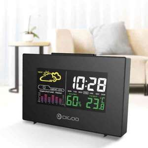 Weather display alarm clock thingy. Well reviewed. £7.82 delivered at Banggood