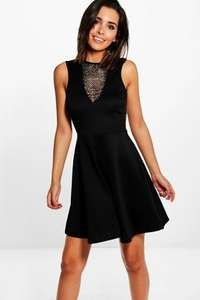 Upto 50% off womens sale but actually bigger discounts eg Jackie Mesh dress was £18 now £5 plus £1.50 next day delivery with code @ Boohoo