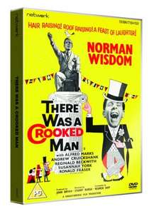 """Lost"" Norman Wisdom Film now on DVD- £6.50  ""There Was a Crooked Man"" 1960. Networkonair"