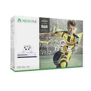 Microsoft Xbox one S 500gb robot white professional refurbished with Fifa DLC £169 from eBay Tesco outlet