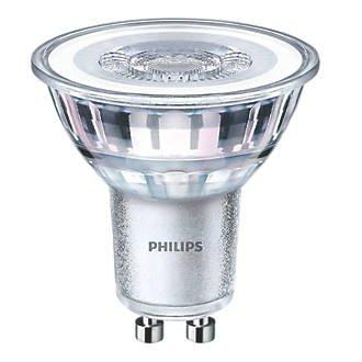 Over HALFPRICE - Philips GU10 4.6watt LED Lamps £1.99 Screwfix