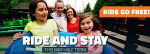 MAY HALF TERM - Thorpe Park 2 days in park, night in hotel & breakfast from £50pp (Based on fam 4) @ Thorpe Park