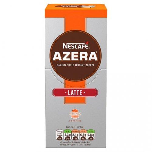 Nescafe Azera Latte Instant Coffee 6 Servings 108G £1.49 @ Tesco