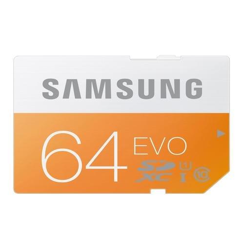 Samsung 64GB EVO SDXC Card - £13.29  mymemory with code